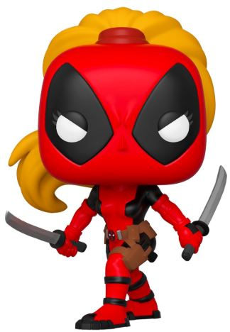 Funko Pop! Marvel Lady Deadpool Icon