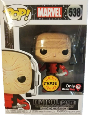 Funko Pop! Marvel Deadpool (Gamer) (Chase) Stock