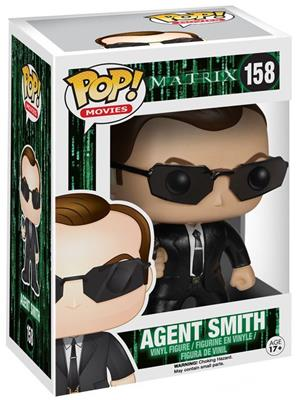 Funko Pop! Movies Agent Smith Stock