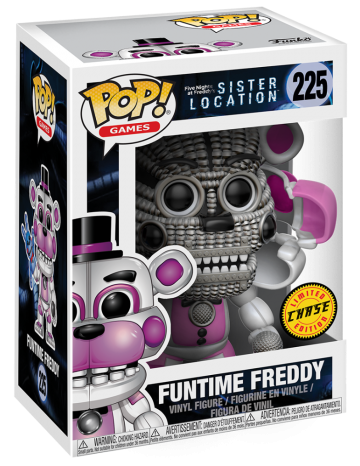 Funko Pop! Games Freddy (Funtime) - CHASE Stock