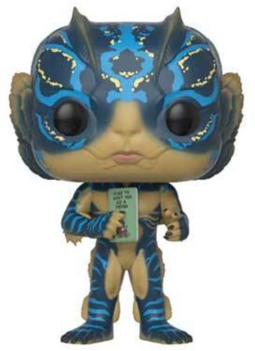 Funko Pop! Movies Amphibian Man (w/ Book) Stock