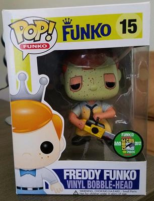 Funko Pop! Freddy Funko Leatherface (Bloody)