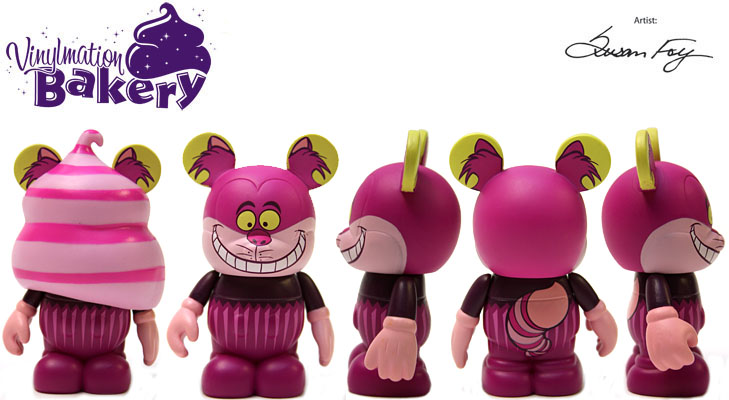 Vinylmation Open And Misc Bakery Cheshire Cat Cupcake