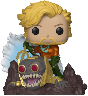 Funko Pop! Heroes Aquaman DELUXE Icon