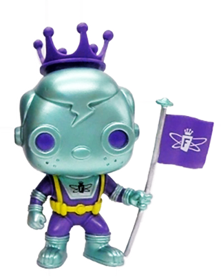 Funko Pop! Freddy Funko Space Robot (Blue & Purple)