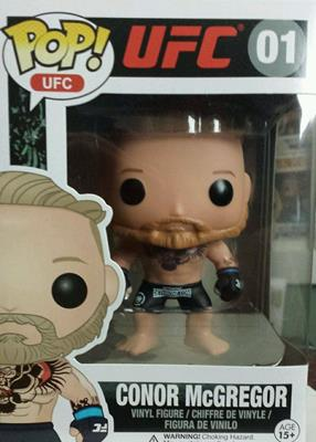 Funko Pop! UFC Conor McGregor (Black Logo Shorts)