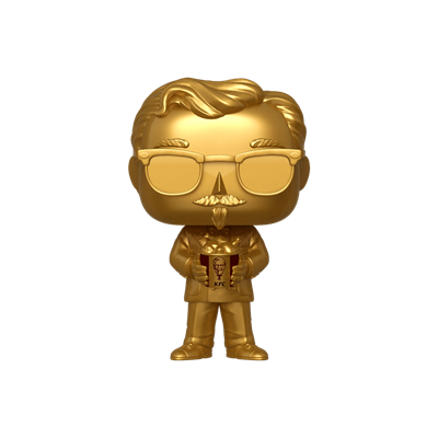 Funko Pop! Icons Colonel Sanders (Gold)