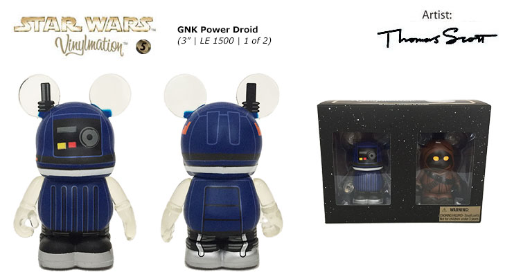 Vinylmation Open And Misc Star Wars 5 GNK Power Droid