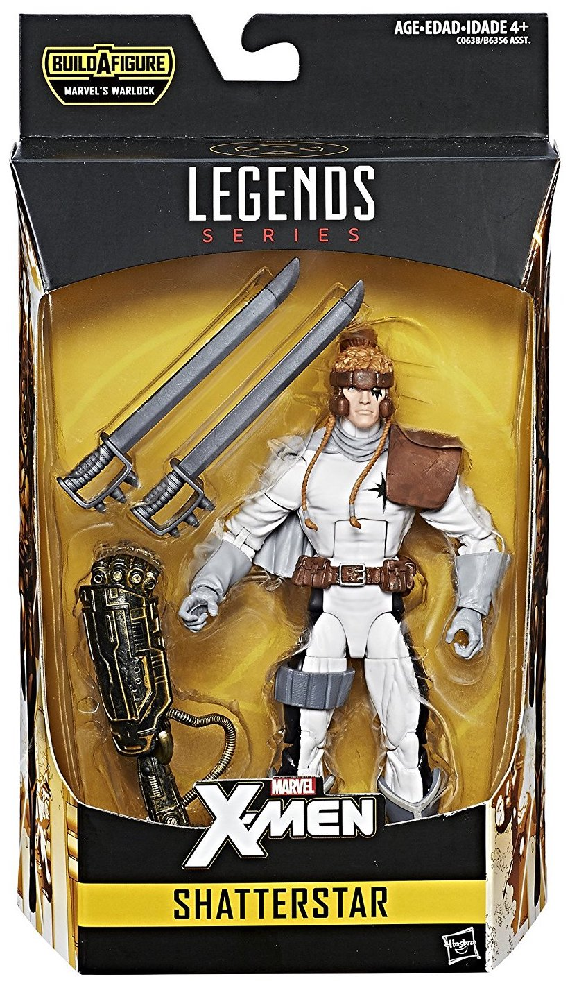 Marvel Legends Warlock Series Shatterstar Icon