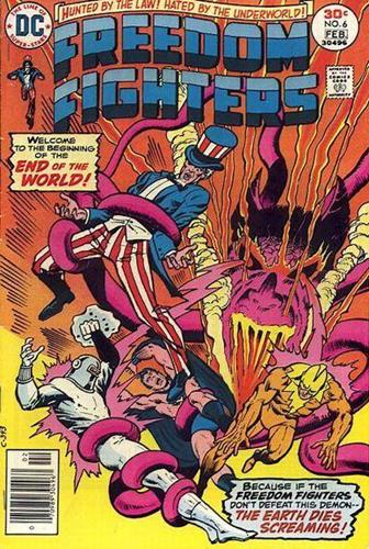 DC Comics Freedom Fighters (1976) Freedom Fighters (1976) #6 Stock