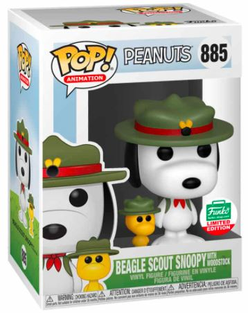 Funko Pop! Animation Beagle Scout Snoopy with Woodstock Stock