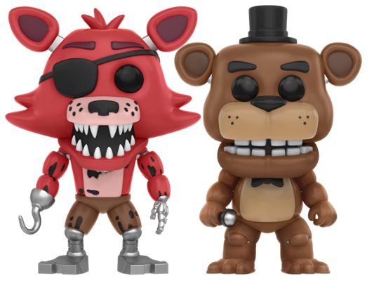 Funko Pop! Games Foxy the Pirate / Freddy