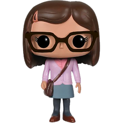 Funko Pop! Television Amy Farrah Fowler (Purple)