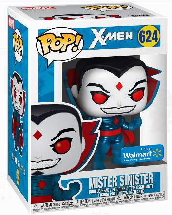 Funko Pop! Marvel Mister Sinister (Metallic) (Walmart) Stock