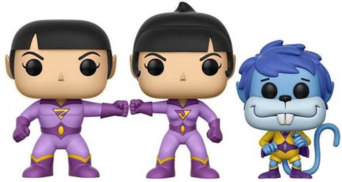 Funko Pop! Heroes Wonder Twins (3-Pack) Icon Thumb