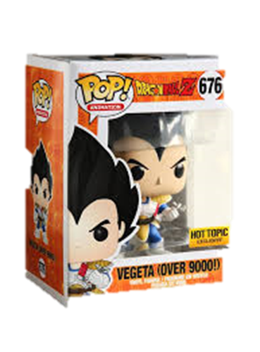 Funko Pop! Animation Vegeta (OVER 9000!) Stock