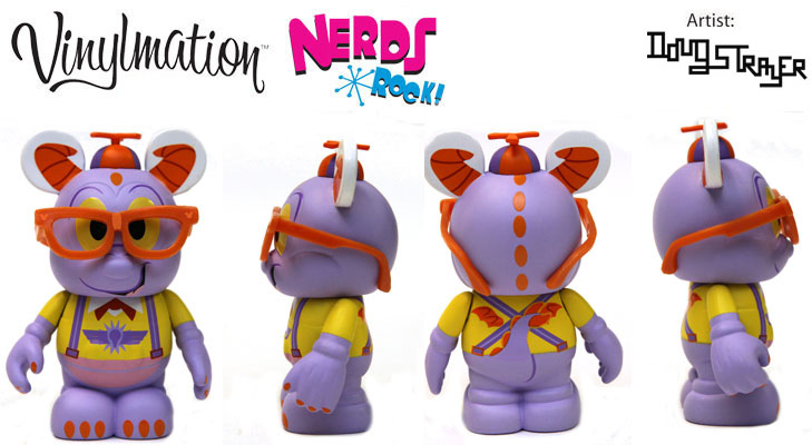 Vinylmation Open And Misc Nerds Rock Figment