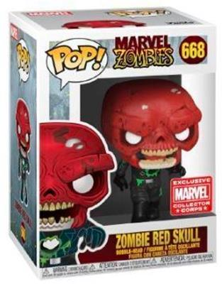 Funko Pop! Marvel Zombie Red Skull Stock
