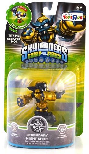 Skylanders Swap Force Legendary Night Shift Stock