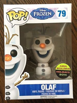 Funko Pop! Disney Olaf (Flocked) Stock