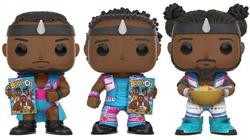Funko Pop! Wrestling Big E, Xavier Woods & Kofi Kingston (New Day) - Booty-O's