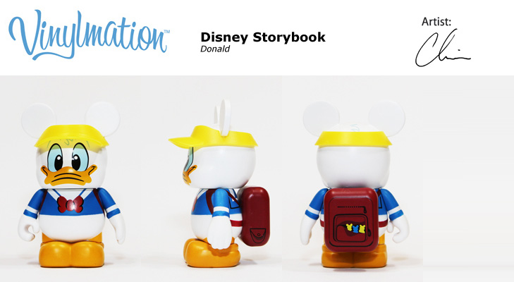 Vinylmation Open And Misc Donald & Pluto Donald