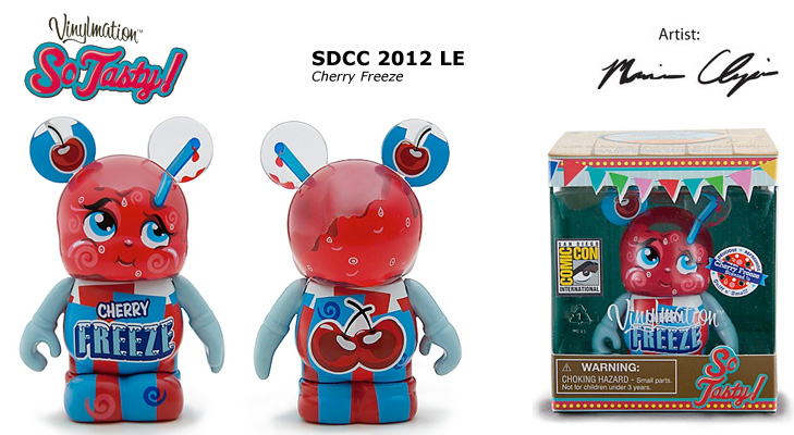 Vinylmation Open And Misc So Tasty Cheery Freeze
