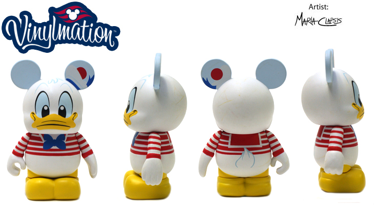 Vinylmation Open And Misc Disney Cruise Line Donald