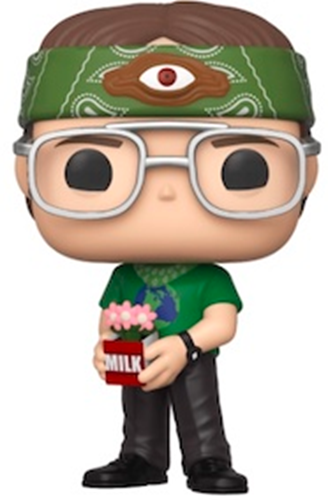 Funko Pop! Television Dwight Schrute as Recyclops