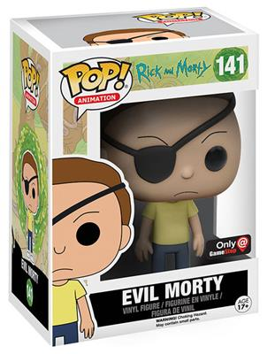 Funko Pop! Animation Morty (Evil) Stock