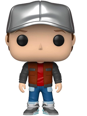Funko Pop! Movies Marty in Future Outfit Icon Thumb