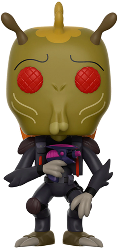 Funko Pop! Animation Krombopolus Michael Icon