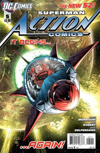 DC Comics Action Comics (2011 - 2016) Action Comics (2011) #5 Stock