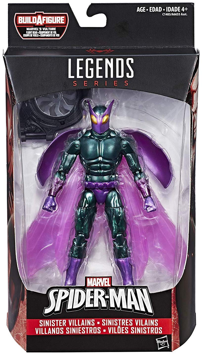 Marvel Legends Vulture Series (Spider-Man Homecoming) Beetle Mark