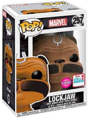 Funko Pop! Marvel Lockjaw (Flocked) Stock