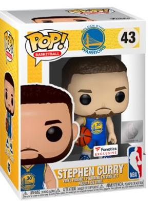 Funko Pop! Sports Stephen Curry (Fanatics) Stock
