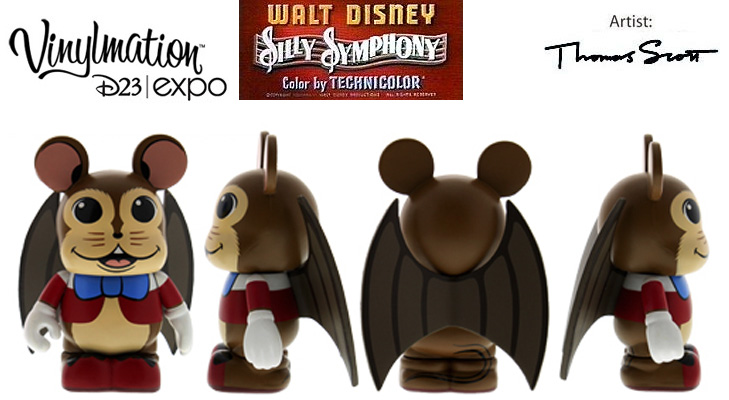 Vinylmation Open And Misc Silly Symphony Flying Mouse