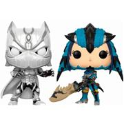 Funko Pop! Games Black Panther vs Monster Hunter