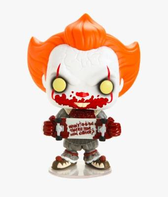 Funko Pop! Movies Pennywise With Skateboard Icon