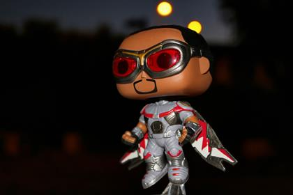 Funko Pop! Marvel Falcon (Civil War) Pop_and_Toys on instagram.com
