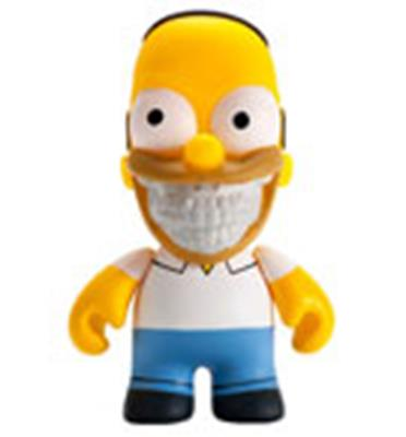 Kid Robot Simpsons x Kidrobot Homer Grin