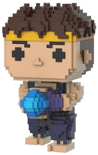 Funko Pop! 8-Bit Ryu (Purple) - CHASE