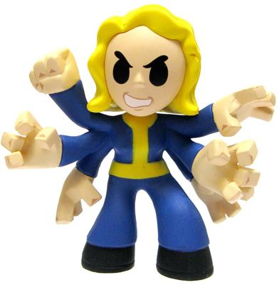 Mystery Minis Fallout Black Widow Icon