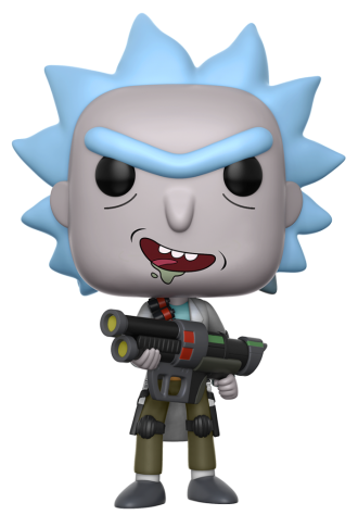 Funko Pop! Animation Rick (Weaponized) - CHASE