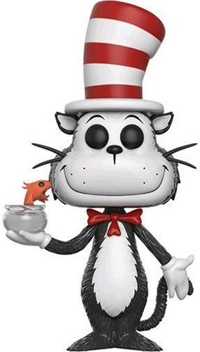 Funko Pop! Books Cat in the Hat (w/ Fishbowl)