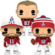 Funko Pop! Football New England Patriots (3-Pack)