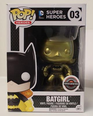 Funko Pop! Heroes Batgirl (Gold) - Black Bat Stock