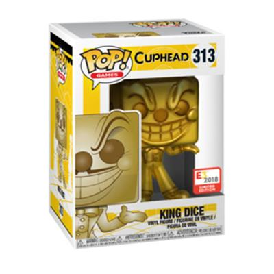 Funko Pop! Games King Dice (Gold) Stock