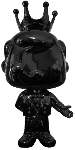 Funko Pop! Freddy Funko Tuxedo Freddy (Chrome-Black)