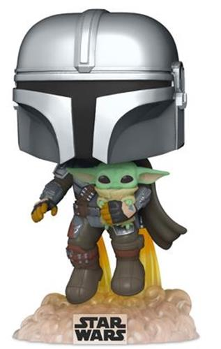 Funko Pop! Star Wars The Mandalorian with the Child